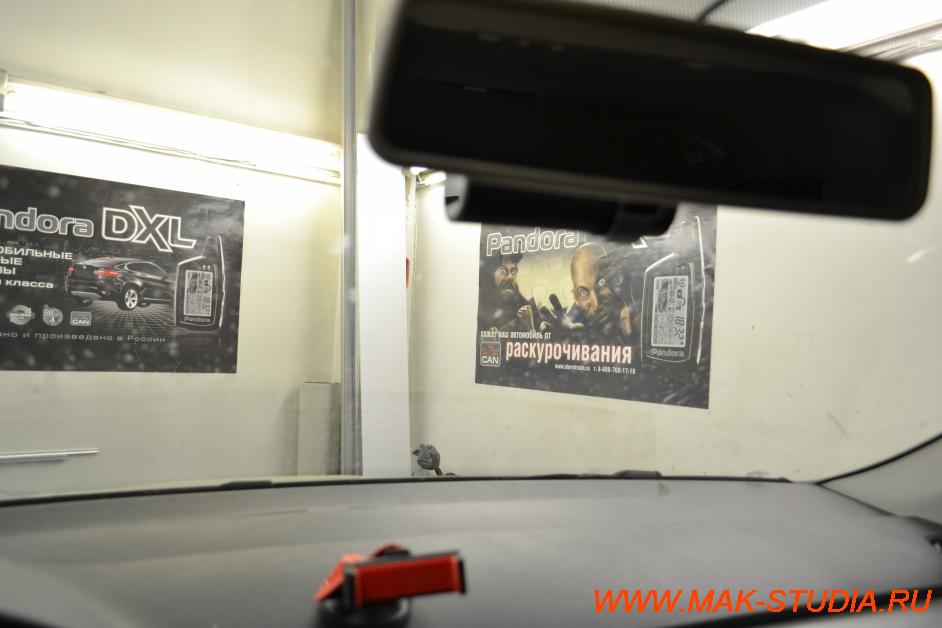 установка видеорегистратора в skoda