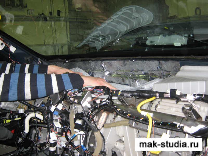 Авто технология производства шумоизоляции для