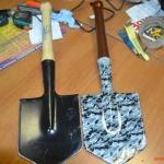 аквапринт лопата