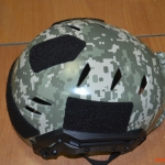 Аквапринт армейского тактического шлема армии США.