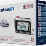 Автосигнализация StarLine A63