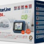 Сигнализация StarLine A94 + F1 + S-20.3