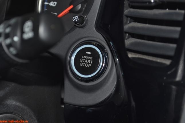 кнопка старт-стоп на новом месте!