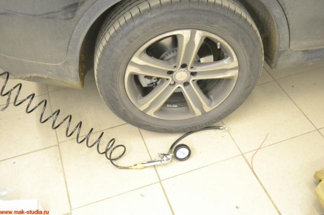 теперь колесо подкачать можно без проблем