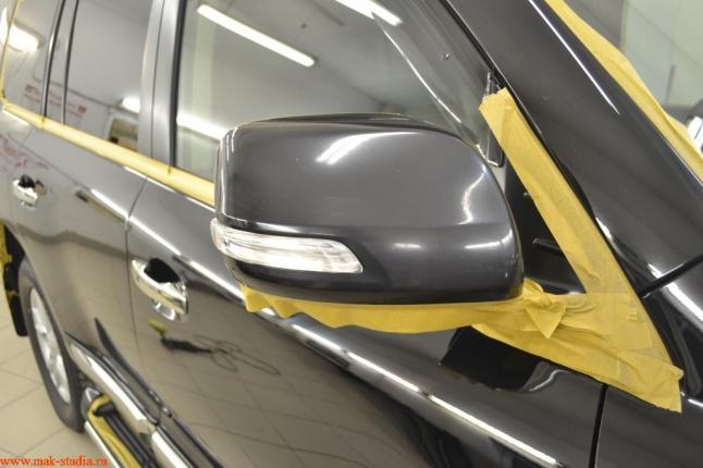 подготовка автомобиля к обработке