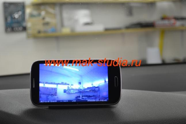 Режим наблюдения через телефон