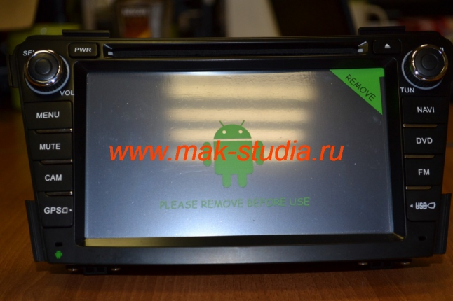 Экран головного устройства