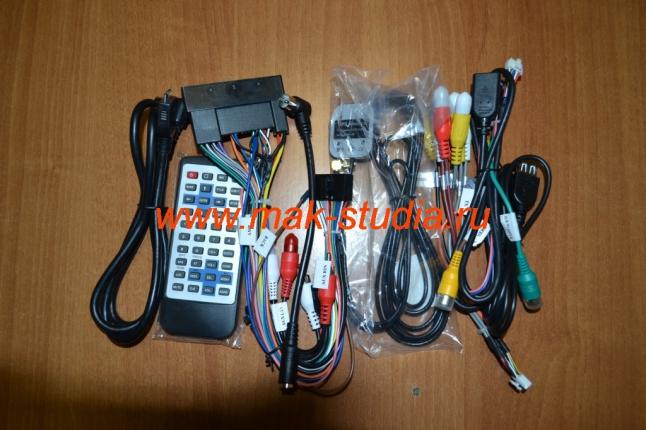 Установка головного устройства на Hyundai - комплект проводки