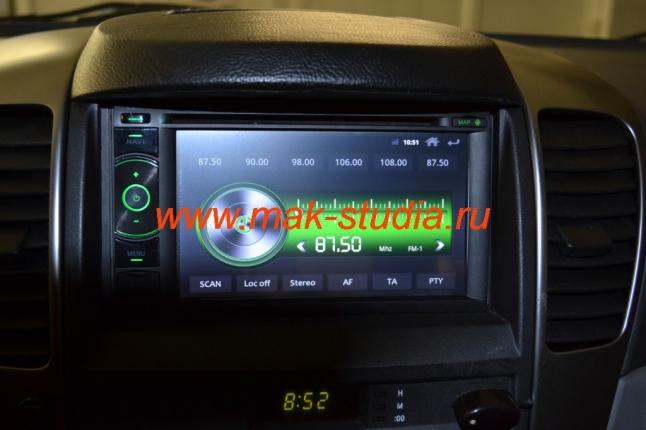Штатное головное устройство Kia Sorento - радио