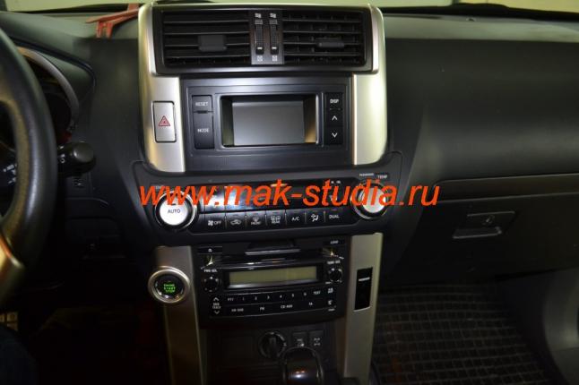 Штатное головное устройство Тойота Прадо 150