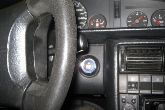 кнопка старт стоп установлена