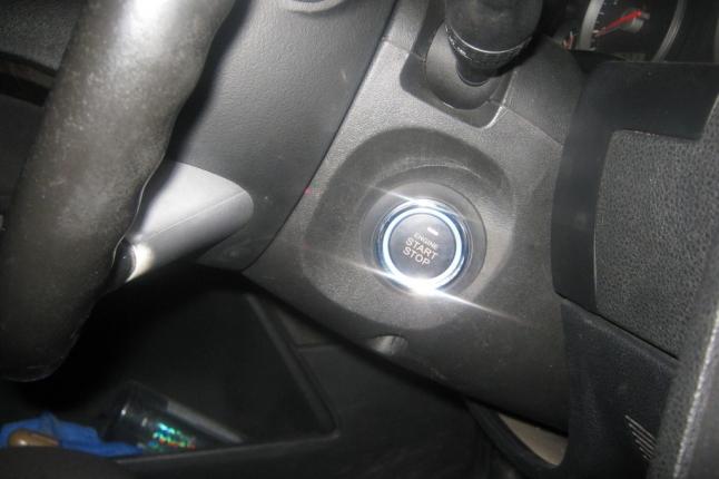 установка кнопки старт-стоп на форд мондео