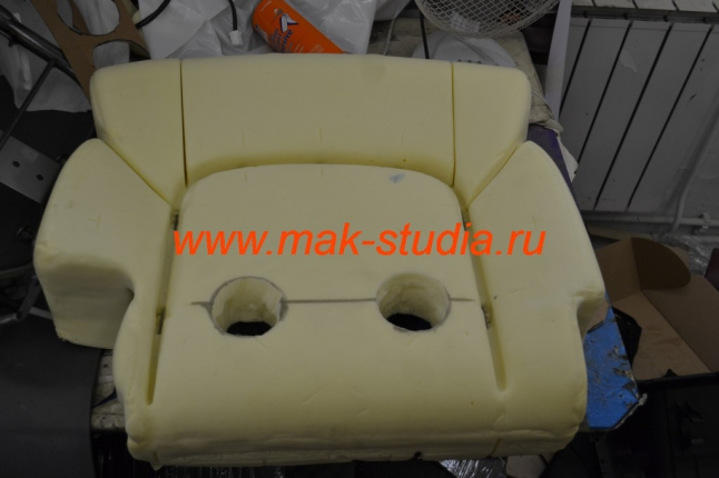 спинка сидений