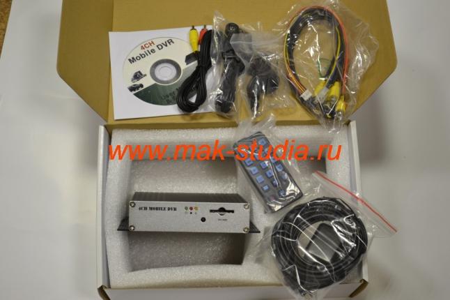 Автомобильный видеорегистратор - так выглядит комплект оборудования