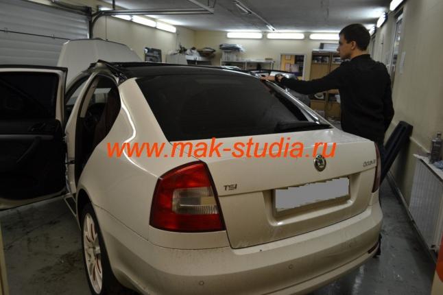 Оклейка авто защитной плёнкой