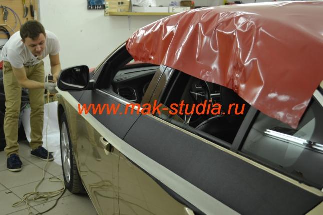 Оклейка автомобиля плёнкой - крыша