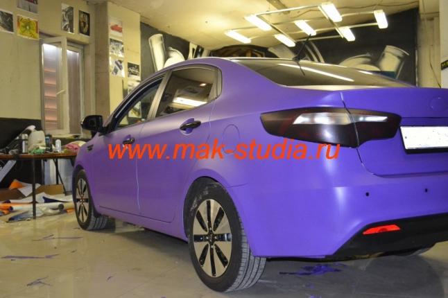 Оклейка автомобиля плёнкой - когда надоест, можно сменить цвет