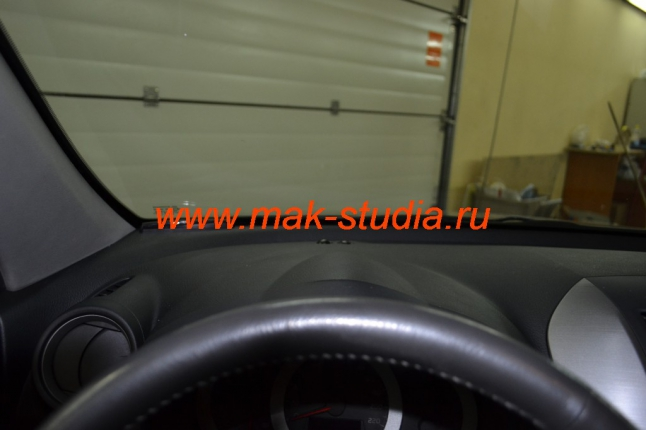 Установка парктроника - расположение индикатора