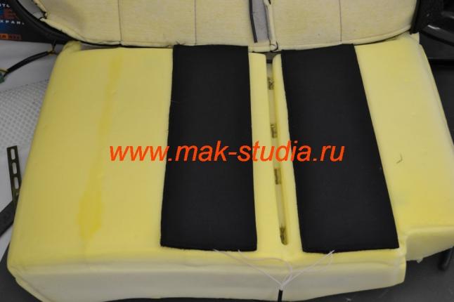 Подогрев сидений - расположение элементов обогрева
