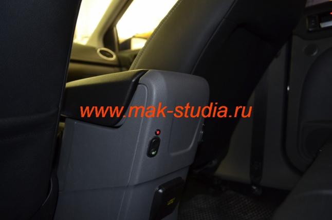 Обогрев сидений - установка кнопок управления для задних пассажиров
