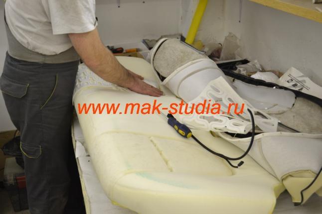 Установка обогрева сидений - расположение элементов обогрева