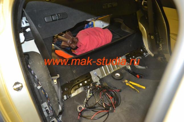 Установка обогрева сидений - подключение электропроводки