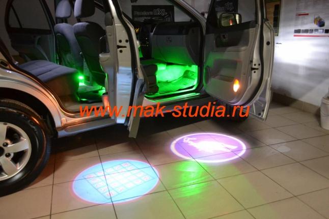 Подсветка салона автомобиля Киа