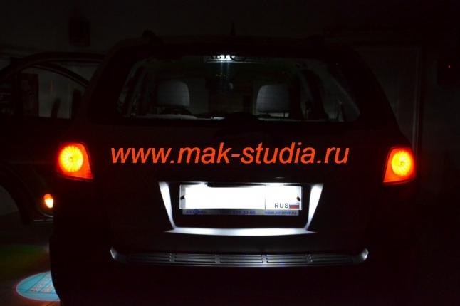 Замена ламп внешнего освещения