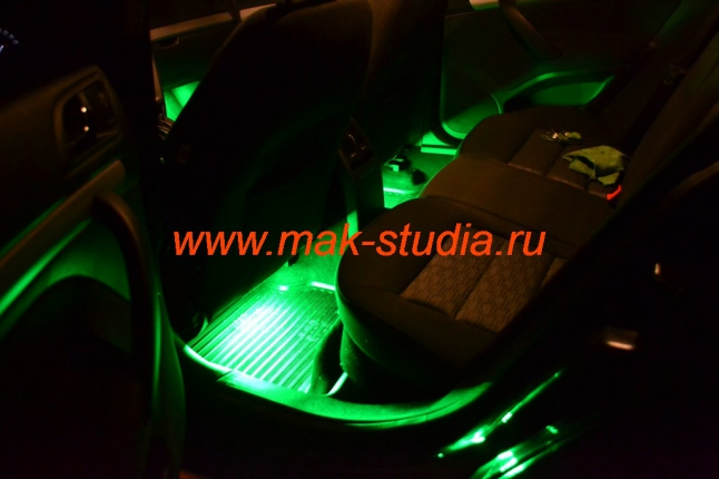 Подсветка салона - оценят и пассажиры и прохожие