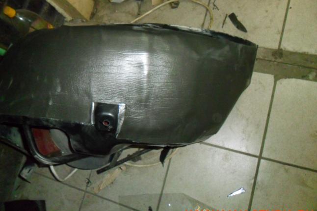 Втрой слой-сплэн, основной шумоизолятор