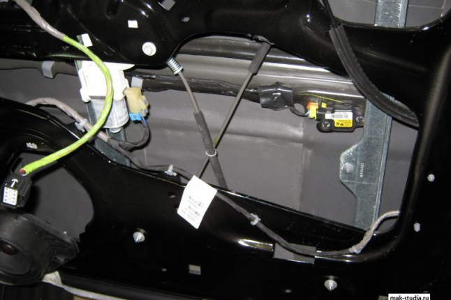 Второй слой сплэн - теплошумоизолятор