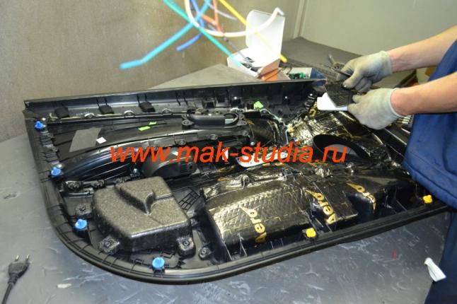 Шумоизоляция дверей автомобиля - вибропласт избавит от дешёвого  дребезга
