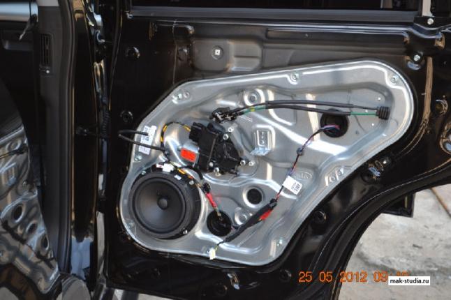 Шумоизоляция автомобиля - шумоизоляция дверей