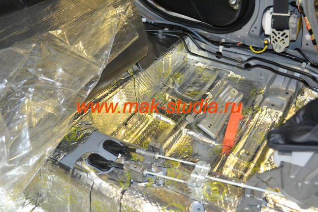 Вибропласт - эффективный шумоизоляционный материал