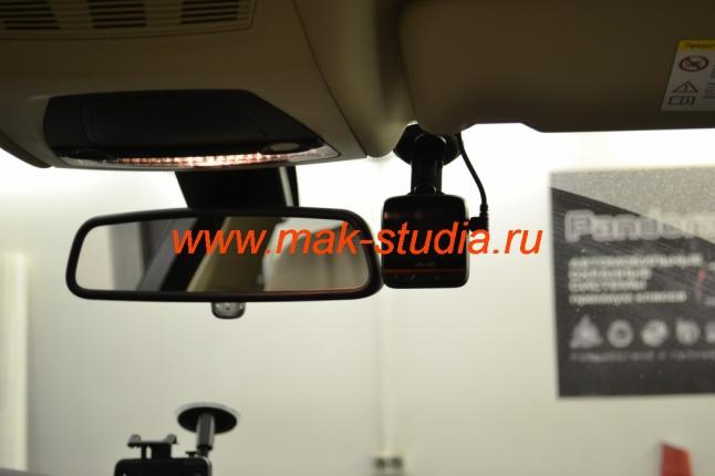 Скрытая установка видеорегистратора в авто
