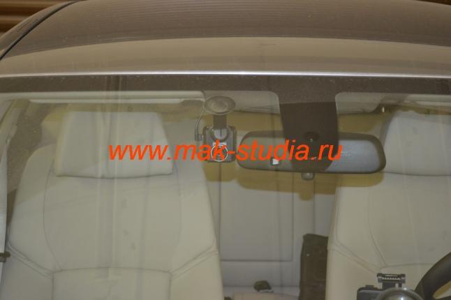 Скрытая установка видеорегистратора в БМВ