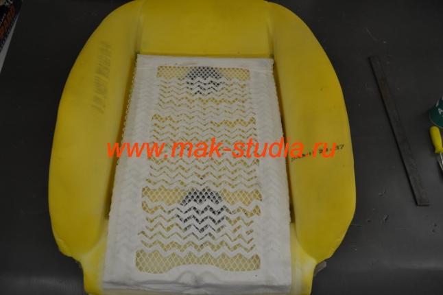 Вентиляция сидений - наклейка штатного обогрева