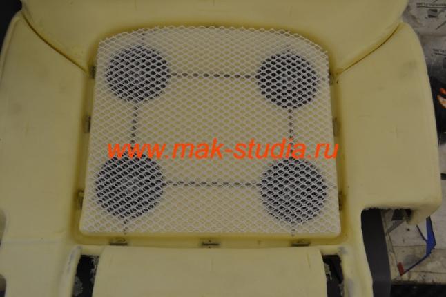 Установка вентиляции сидений - специальный материал