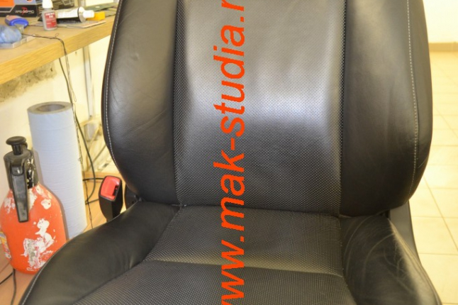 Вентиляция сидений - разбор сидушки