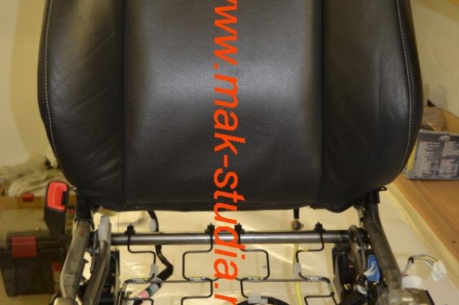 Вентиляция сидений - разбираем сиденье