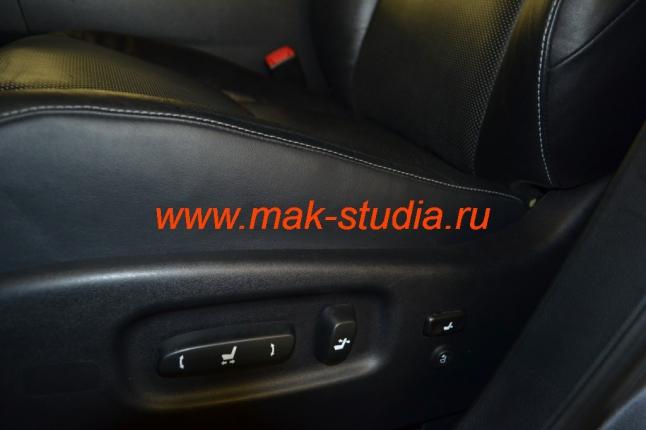 Вентиляция сидений - кнопка управления идеально вписалась в общую компоновку органов управления