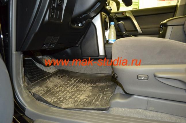 Вентиляция передних сидений - вид сбоку