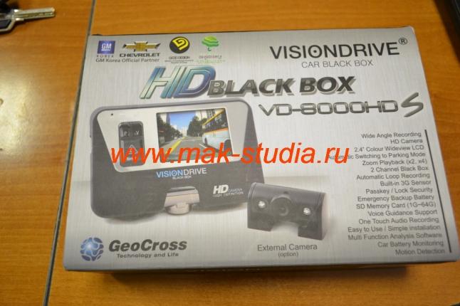 Видеорегистратор Visiondrive.