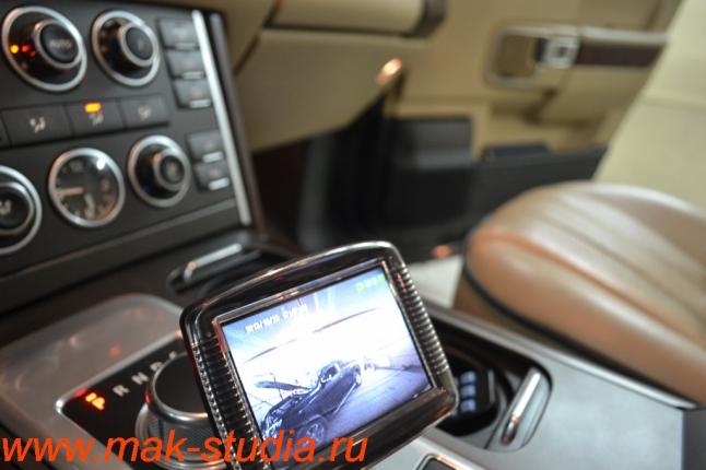 Видеорегистратор Intro sdr-g40: изображение с задней камеры