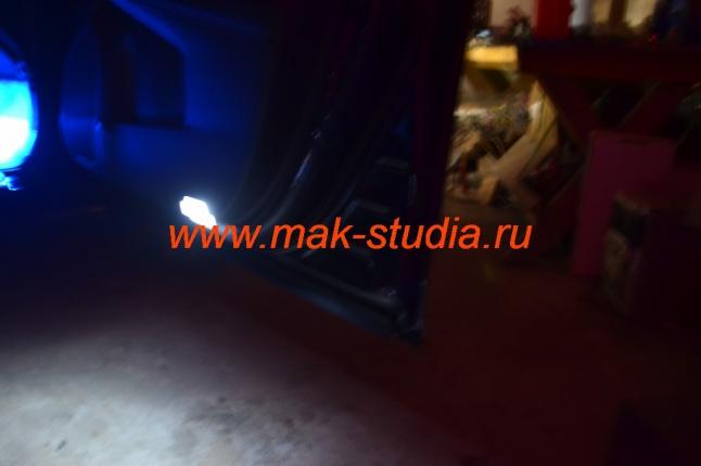 Замена ламп освещения салона