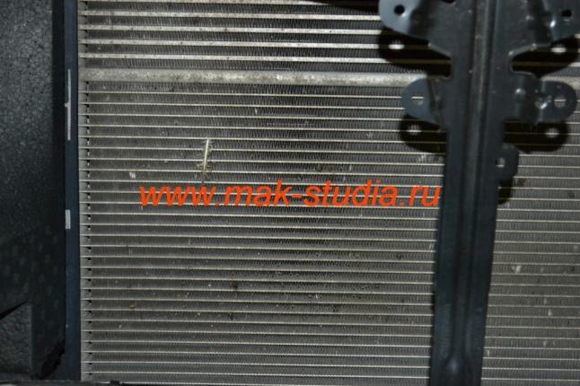 Защита радиатора - сетка просто необходима