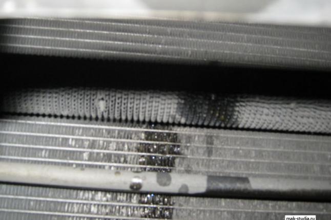 Теперь замена радиатора охолождения АКПП