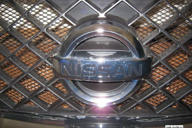 Защитная решётка радиатора отлично сочетается и дополняет общий вид