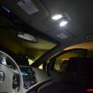 Замена ламп освещения в переднем плафоне