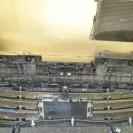 установка сетки в бампер макстудия